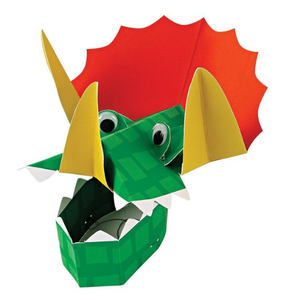 Dinosaur Party Hats PK8