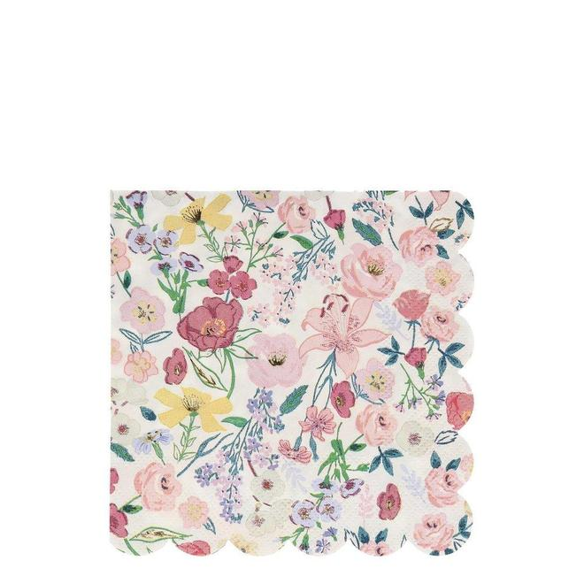 English Garden Large Napkins (PK16)
