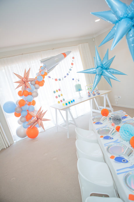 Outer Space Themed Party