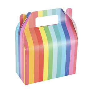Rainbow Favor Boxes 8PK