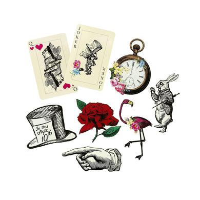 Alice in Wonderland Prop Set of 8