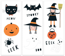 Load image into Gallery viewer, Halloween Temporary Tattoos