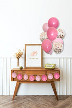 Load image into Gallery viewer, Balloon Bouquet Rose, Pastel Pink & Rose Gold Confetti (12PK)