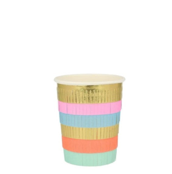 Circus Fringe Party Cups (PK8)