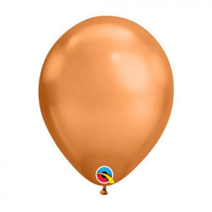 "11"" Chrome Copper Latex Balloon"