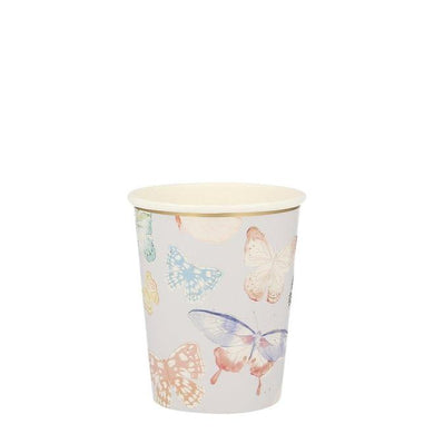 Butterfly Party Cups (PK8)