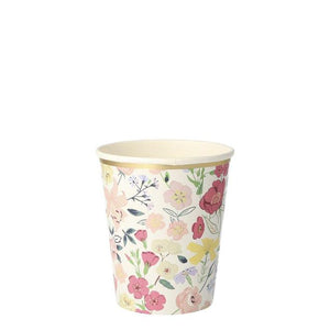 English Garden Party Cups (PK8 in 8 designs)