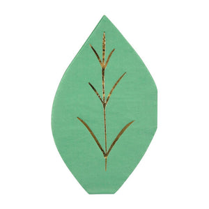 Fresh Leaf Napkins PK16
