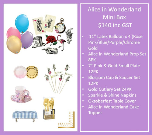 Alice in Wonderland Mini Box