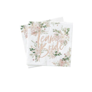 Floral Hen Party Napkins (PK16)