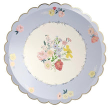 Load image into Gallery viewer, English Garden Dinner Plates (PK8 in 4 degisn)