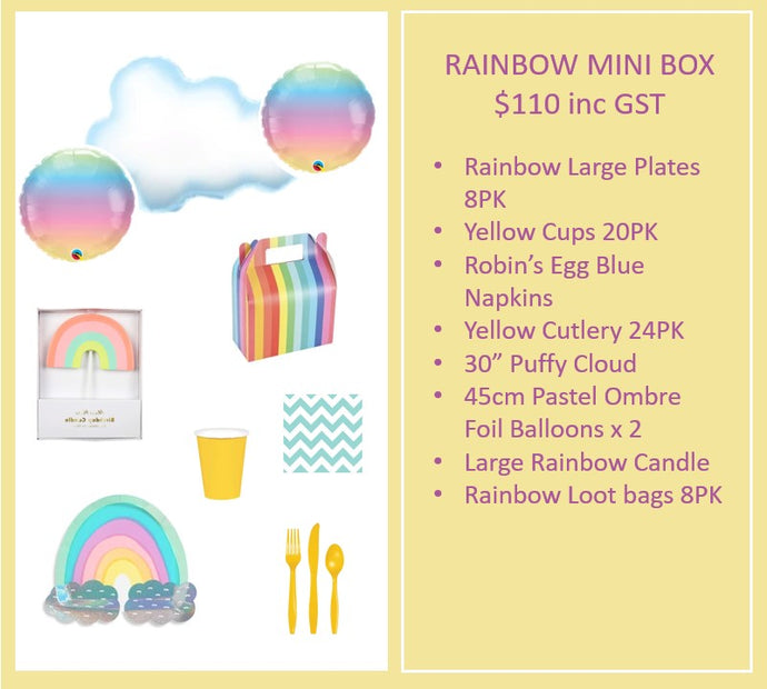 Rainbow Mini Box