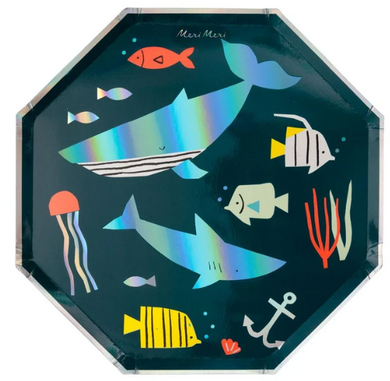 Under The Sea Dinner Plates PK8