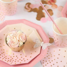 Load image into Gallery viewer, Pink Paper Straws (PK25)