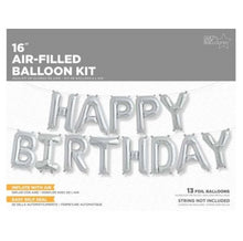 Load image into Gallery viewer, Happy Birthday Kit Foil Balloon