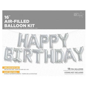 Happy Birthday Kit Foil Balloon
