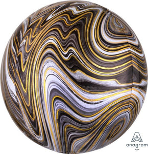 Marblez Black Orbz Ball