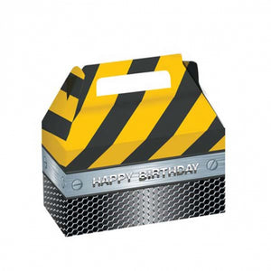 Construction Zone Favor Boxes ( inc 2 boxes)