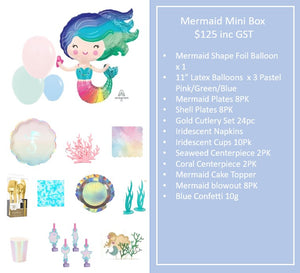Mermaid Mini Box