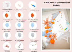 To The Moon Party Box