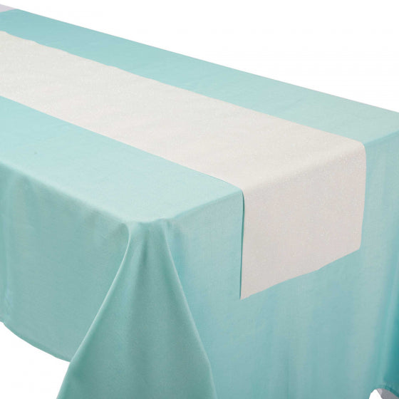 Iridescent Linen Table Runner