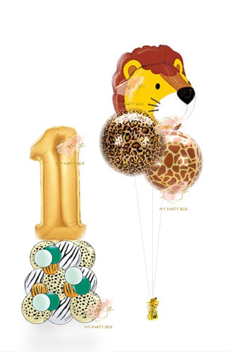 Safari Balloon Bouquet