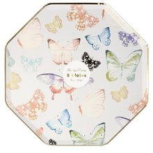 Load image into Gallery viewer, Butterfly Dinner Plates (PK8)