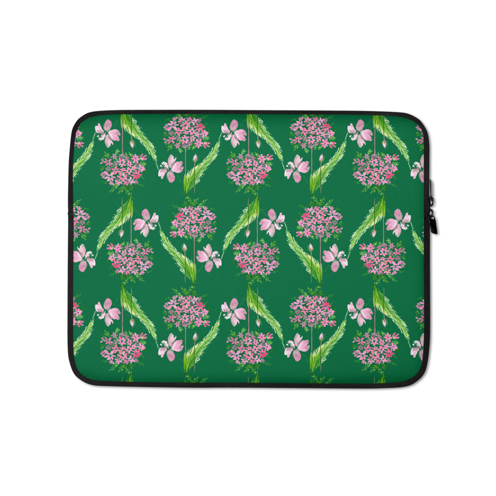 Dulcet Laptop Sleeve Green