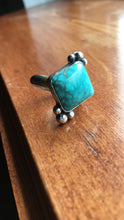 Load image into Gallery viewer, Carico Lake turquoise ring - size 6