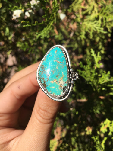 Royston turquoise statement ring - size 8