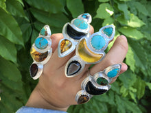 Load image into Gallery viewer, Desert Bloom statement ring - size 7.75