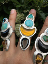 Load image into Gallery viewer, Desert Bloom statement ring - size 8