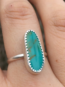 Royston turquoise everyday ring - size 9