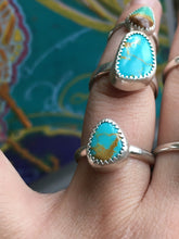 Load image into Gallery viewer, Royston turquoise everyday ring - size 7