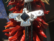 Load image into Gallery viewer, Black onyx Quail bolo