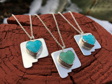 Load image into Gallery viewer, NM Love necklace - Blue Kingman turquoise heart