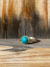 Load image into Gallery viewer, Cloud Mountain turquoise stacker ring set - size 6
