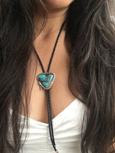 Load image into Gallery viewer, Campitos turquoise Rattlesnake Bolo