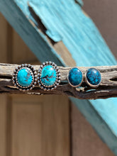 Load image into Gallery viewer, Hubei Turquoise Stud Earrings