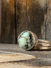 Load image into Gallery viewer, Saguaro variscite stacker ring set - size 7.5