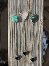 Load image into Gallery viewer, Saguaro Variscite with Black Onyx Lariat Necklace