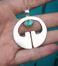 Load image into Gallery viewer, Lingling-o pendant with Sonoran Gold turquoise