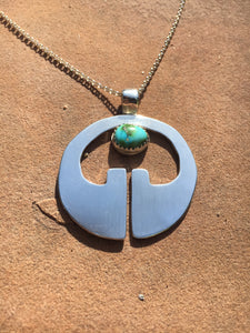 Lingling-o pendant with Sonoran Gold turquoise