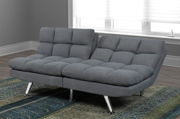 Dual Adjustable Small Format Plush Sofa Bed