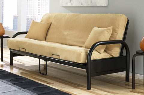 Black Metal Frame Futon 2 Mattress Types Available Choice Of Colors