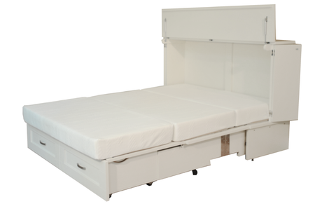 CabinetBed™ Country Style - Deluxe Double Size - CompactSleepSolutions