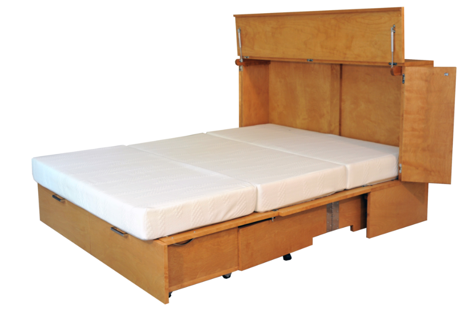 CabinetBed™ Denva - Deluxe Double Size - CompactSleepSolutions