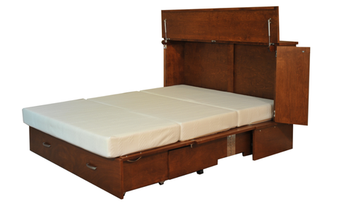 CabinetBed™ Park Avenue - Deluxe Double Size - CompactSleepSolutions