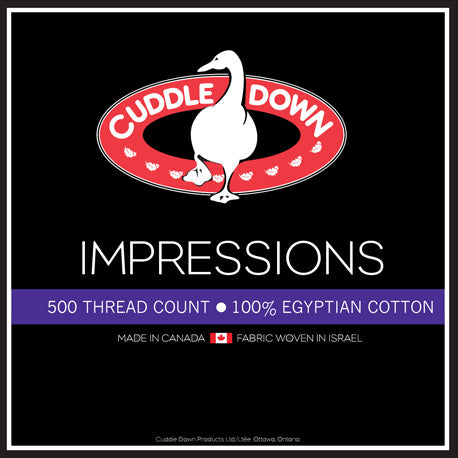 Cuddledown™ Impressions Egyptian Cottons Sheet Set