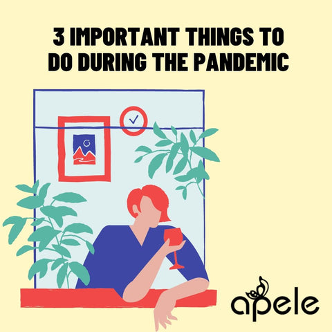 what to do during pandemic